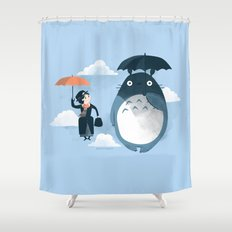 The Perfect Neighbor Shower Curtain