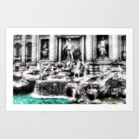 mythology Art Prints featuring Mythology by 2sweet4words Designs