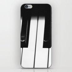 Piano Part 1 iPhone & iPod Skin