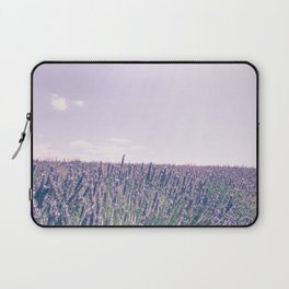 Pink Fields of Lavender Provence France Laptop Sleeve