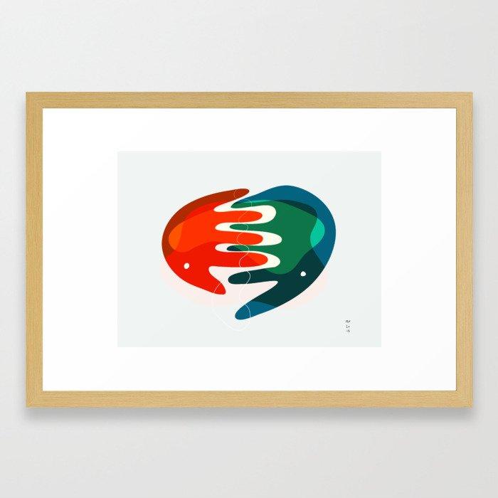 Hand_04 Framed Art Print