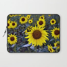 Sunflower Poetry Laptop Sleeve