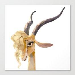 Zootopia~~Gazelle Canvas Print