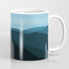 Blue Mountainscape Coffee Mug