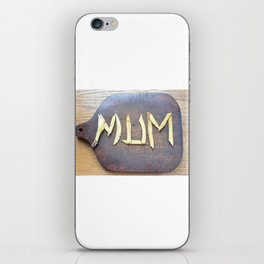 Mother's Day design with banana skin. iPhone Skin