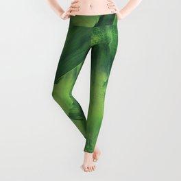 Green Mess Leggings