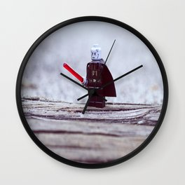 Lego Vader Wall Clock