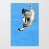 radiohead Canvas Prints featuring radiohead by tareco