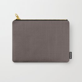 Wenge - solid color Carry-All Pouch