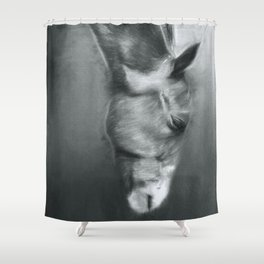 Horse Profile Shower Curtain