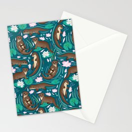 How We Love Each Otter Stationery Cards
