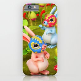 Lucha Brothers iPhone Case