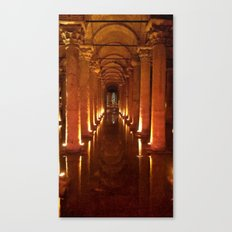 Basilica Cistern Canvas Print