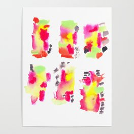 160122 Summer Sydney 2015-16 Watercolor #62 Poster