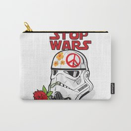 stop wars: stormtrooper for peace Carry-All Pouch