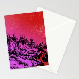 These Hills Are Hostile Stationery Cards