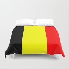 Drapeau Belgique Duvet Cover