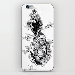 Sirène des abysse iPhone Skin