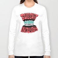 grease Long Sleeve T-shirts featuring The Grease That Moves The Industry by Chris Piascik