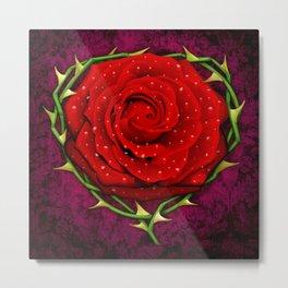 Dangerous Rose  Metal Print