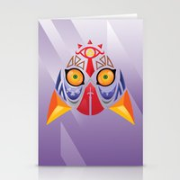 majora Stationery Cards featuring Majora Color by CrodriguezArt