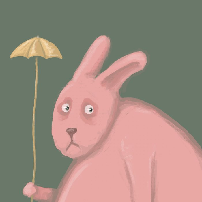 Sad Bunny  Comforters