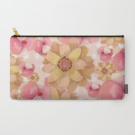 """flowers4"" Carry-All Pouch"