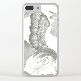 Earth Angel Clear iPhone Case