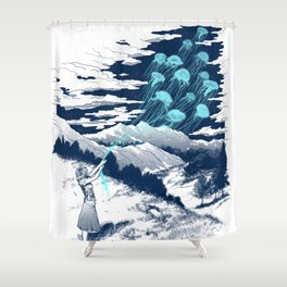 Release the Kindness Shower Curtain