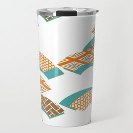 Geometry wind pattern Travel Mug