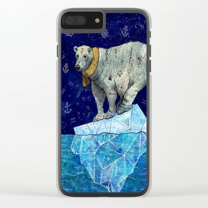 Stellar Edge Clear iPhone Case