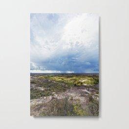 north dakota rain storm Metal Print