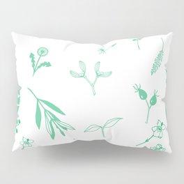 Green Garden Pillow Sham