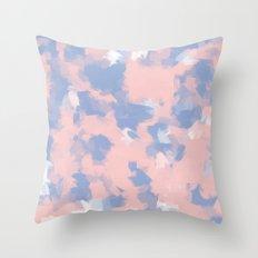 BLOSSOMS - ROSE QUARTZ / SERENITY Throw Pillow