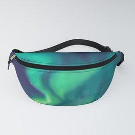 Aurora Borealis Lights Up the Sky (Northern Lights) Fanny Pack