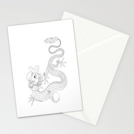 """Chineese """"Lung"""" Dragon Stationery Cards"""
