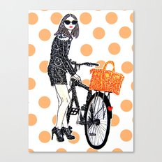 Olivia Palermo Canvas Print