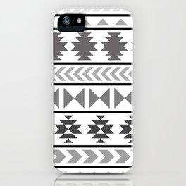Winter Aztec iPhone Case