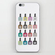 Nail Polish-holic iPhone & iPod Skin