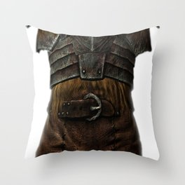 The Mark Throw Pillow