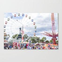 Funfair Canvas Print