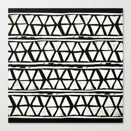 Tribal Geometric Band Canvas Print