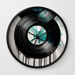 infinite vinyl Wall Clock