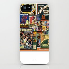 Vintage Hunch by iamjohnlogan iPhone Case