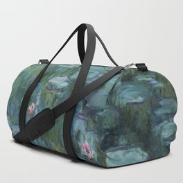Monet, Water Lilies, Nympheas, Seerosen, 1915 Duffle Bag