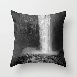 Power in Nature Throw Pillow