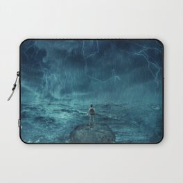Lost in the ocean Laptop Sleeve