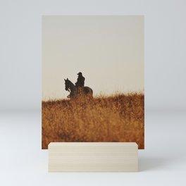 Cowboy II Mini Art Print