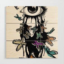 Eye Wood Wall Art