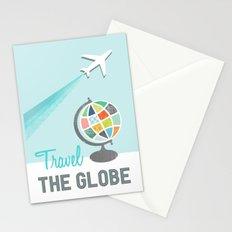 Travel the Globe Stationery Cards